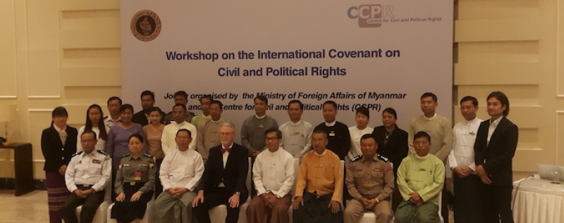 Steps towards ICCPR ratification by Myanmar (Part 2)