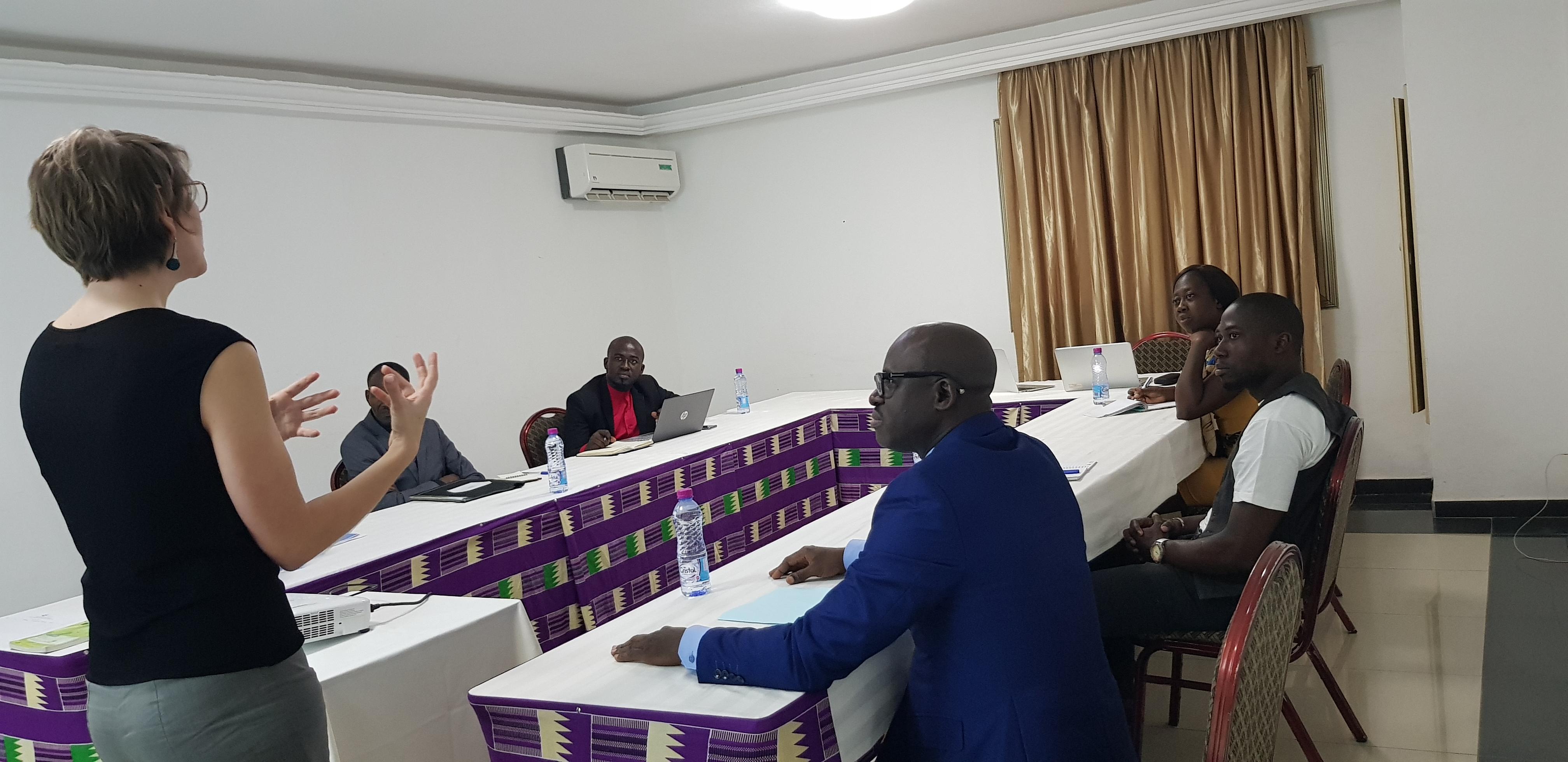 Les acteurs de la corruption en réunion à Lomé