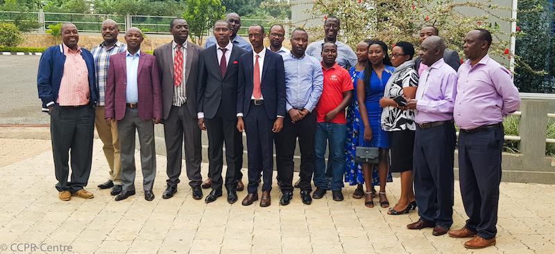 Le Centre appuie les ONG Rwandaises dans leur stratégie de suivi sur les droits civils et politiques