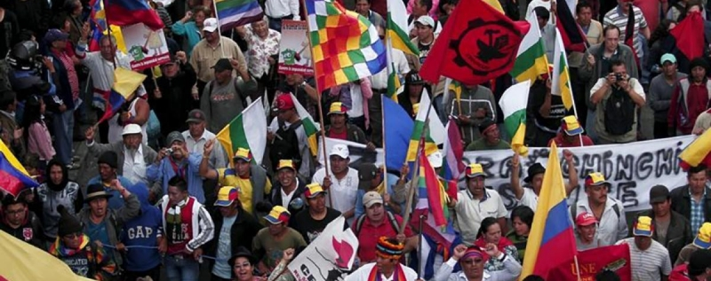 Ecuador: Intense debate on freedom of expression, public protests and rights of indigenous peoples