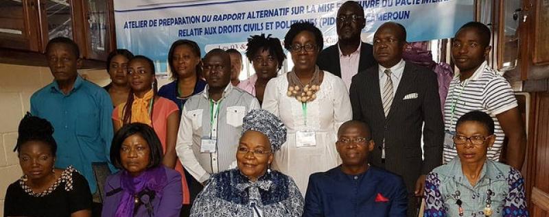 Défenseurs des droits de l'homme préparent un rapport sur la mise en ouvre du PIDCP au Cameroun