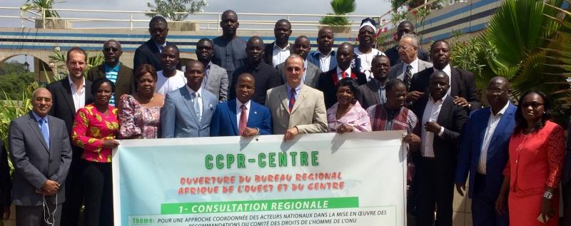 Consultation Régionale pour l'Afrique de l'Ouest sur la mise en oeuvre du PIDCP