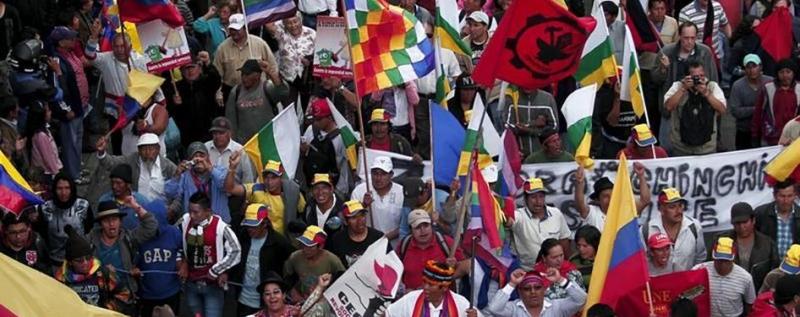 Ecuador: Intenso debate sobre libertad de expresión, protesta social y derechos de los pueblos indígenas