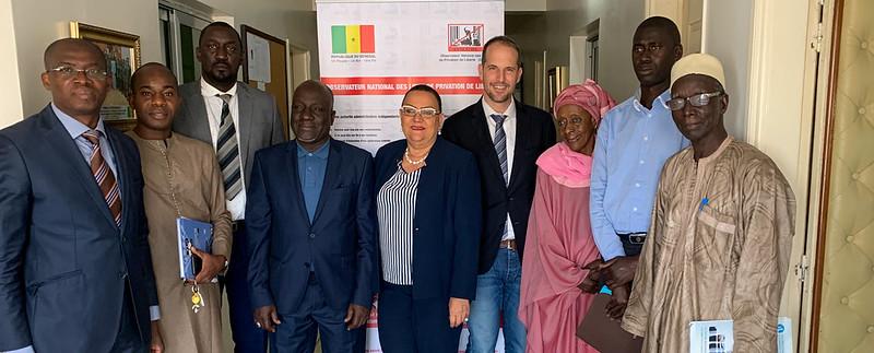 Premières consultations avec les autorités et la société civile sur le suivi des recommandations des droits de l'homme au Sénégal