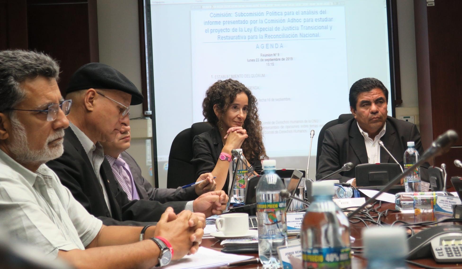 Visita de Experta del Comité de Derechos Humanos a El Salvador