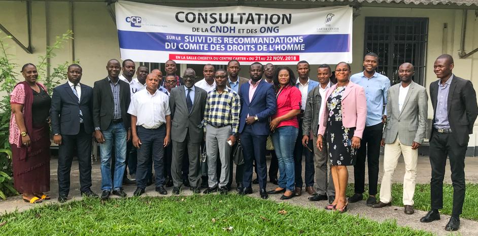 Le Centre appuie les ONG en vue du prochain EPU de la RDC