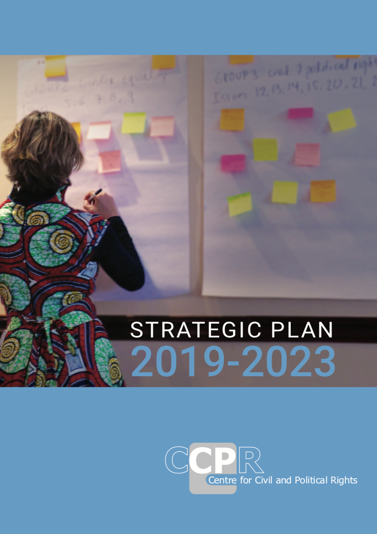 Strategic Plan 2019 – 2023