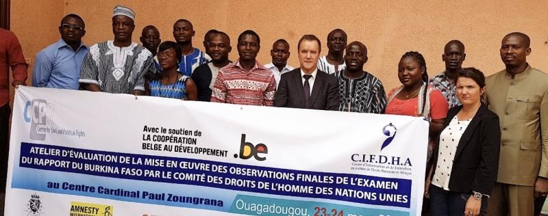 Première table ronde de la société civile au Burkina Faso sur le PIDCP