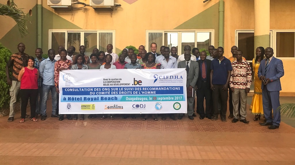 Burkina Faso: Le suivi des recommandations du Comité au coeur du prochain EPU