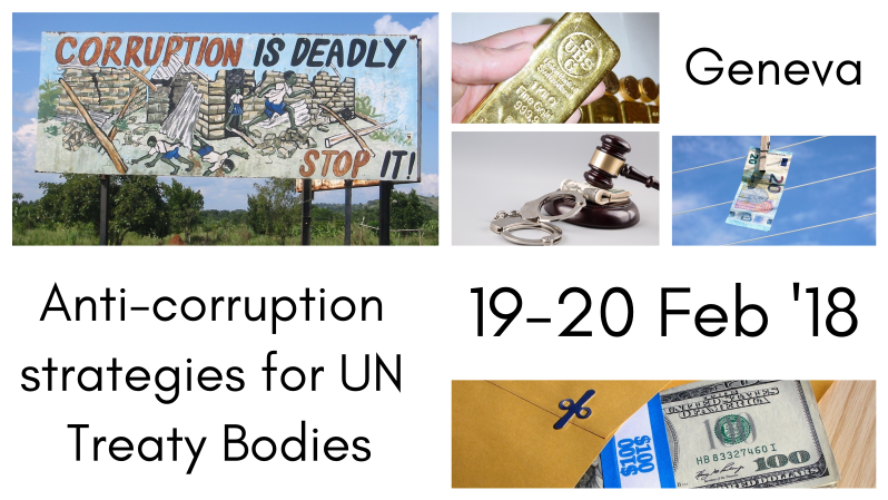 Improving the Human Rights dimension of the fight against corruption