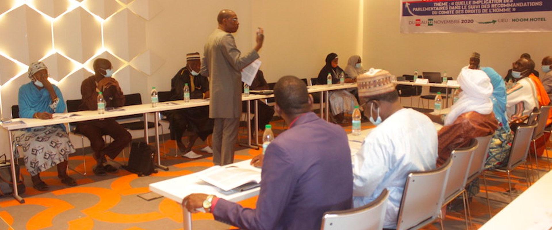 Le Centre aux côtés des parlementaires pour le renforcement des droits civils et politiques au Niger