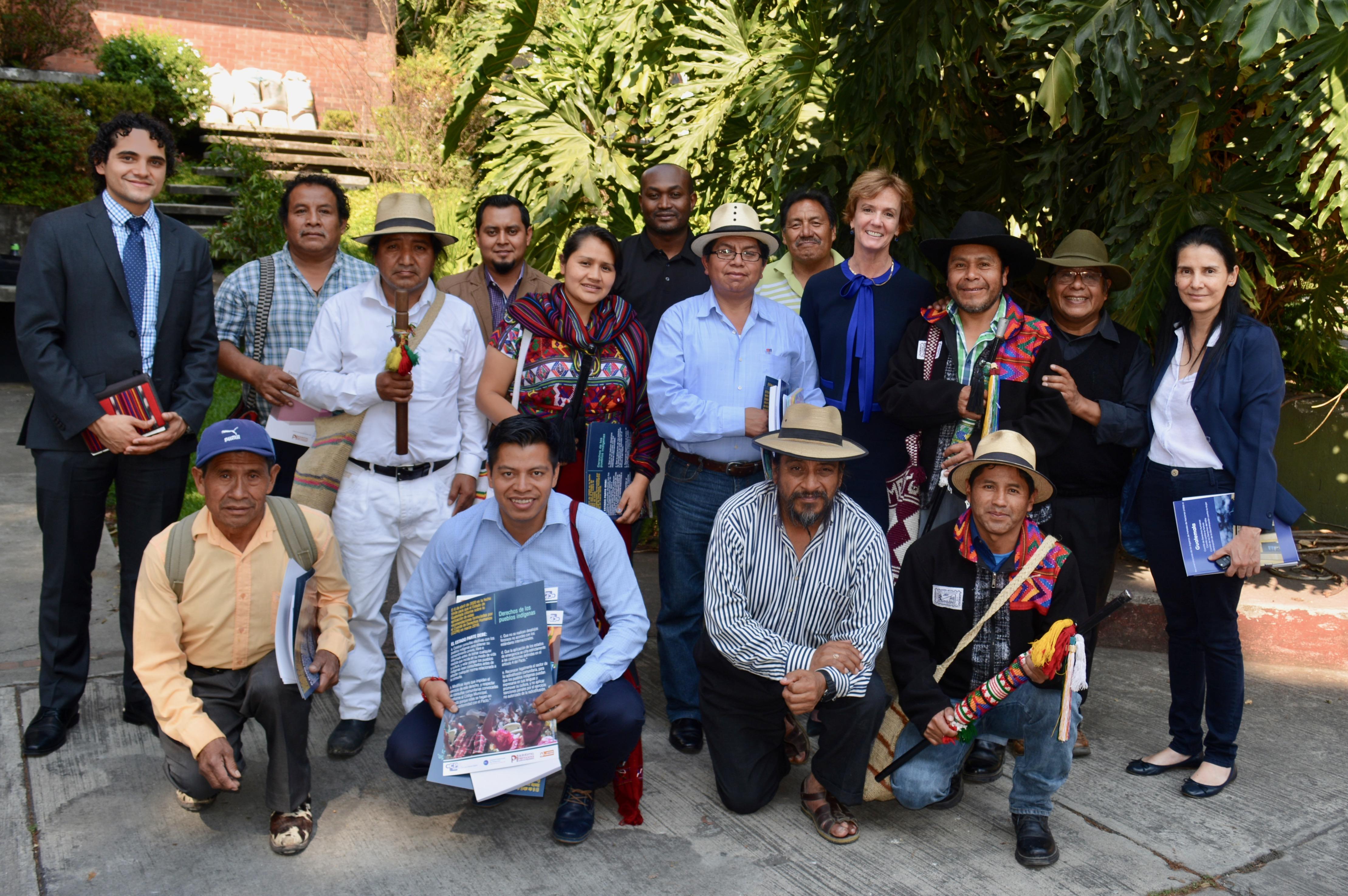 Ex Vicepresidenta del Comité de Derechos Humanos de las Naciones Unidas visita Guatemala
